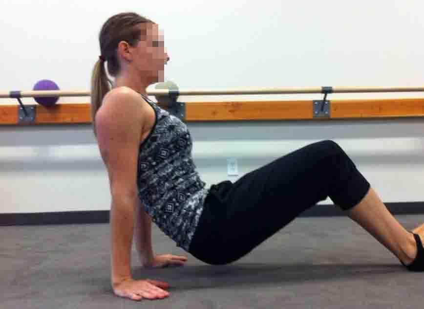 push up egzersizleri