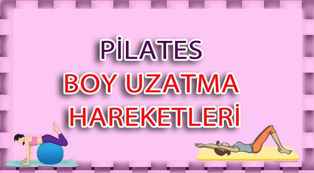 pilates boy uzatma hareketi