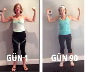 90 gün pilates